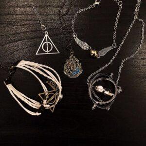 Srebrni Harry Potter poklon set