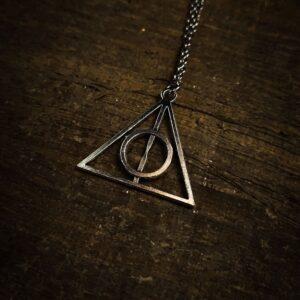 Harry Potter Srebrna Relikvije Smrti Ogrlica