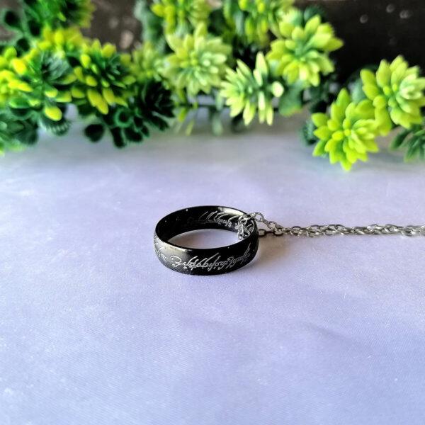 Prsten moći Lord of the Rings Crni