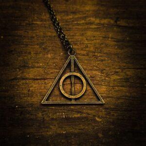 Harry Potter relikvije smrti bronzana ogrlica