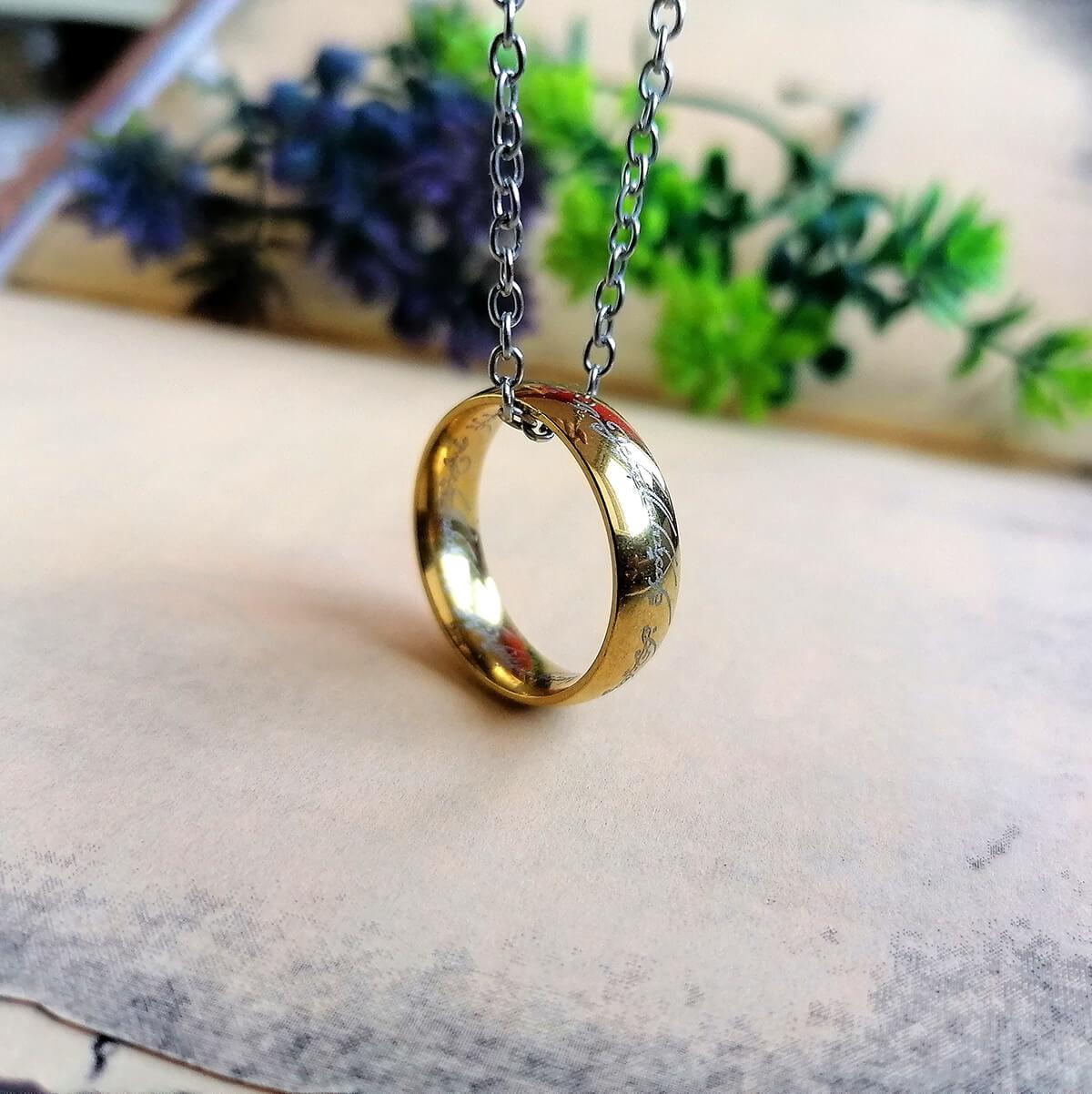 Prsten moći Lord of the Rings Zlatni