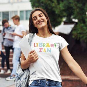 Library fan majica 2