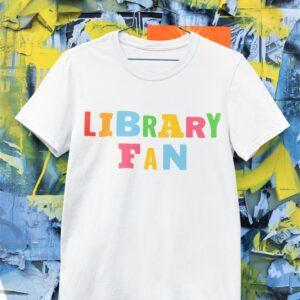 Library fan majica