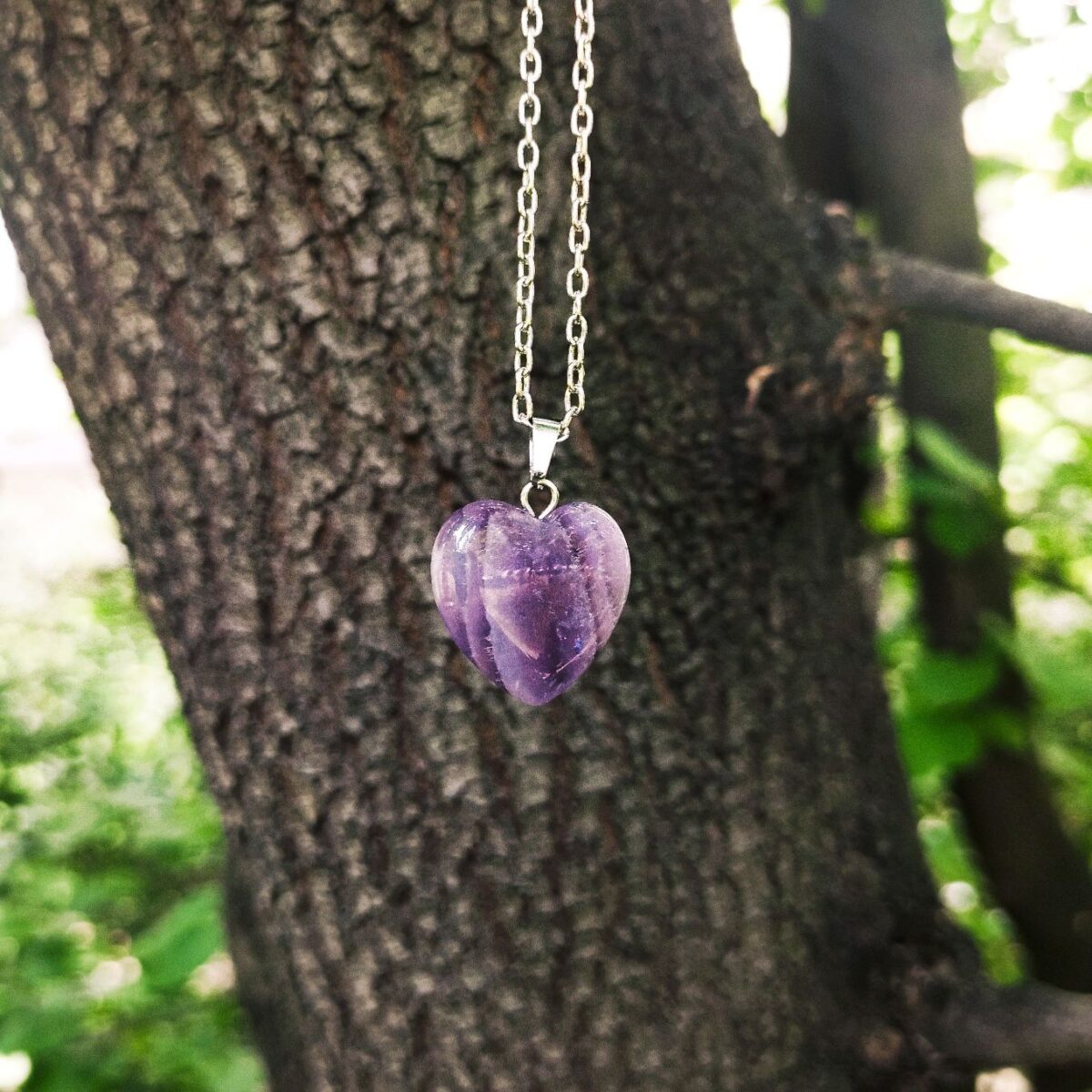 Srce Ametist Magičan kamen