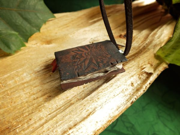 Witcher magična knjižica ogrlica V3 LUX