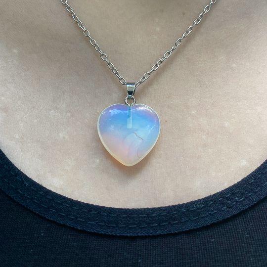Srce Opalit Mesečev Magičan kamen