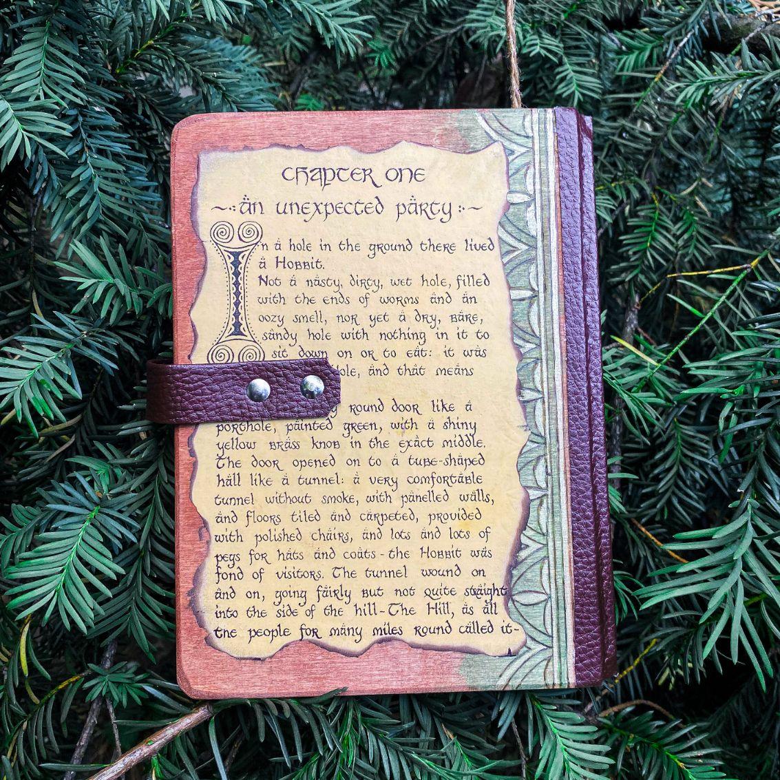 Bilbo Baggins Dnevnik Hobbit Ručni Rad