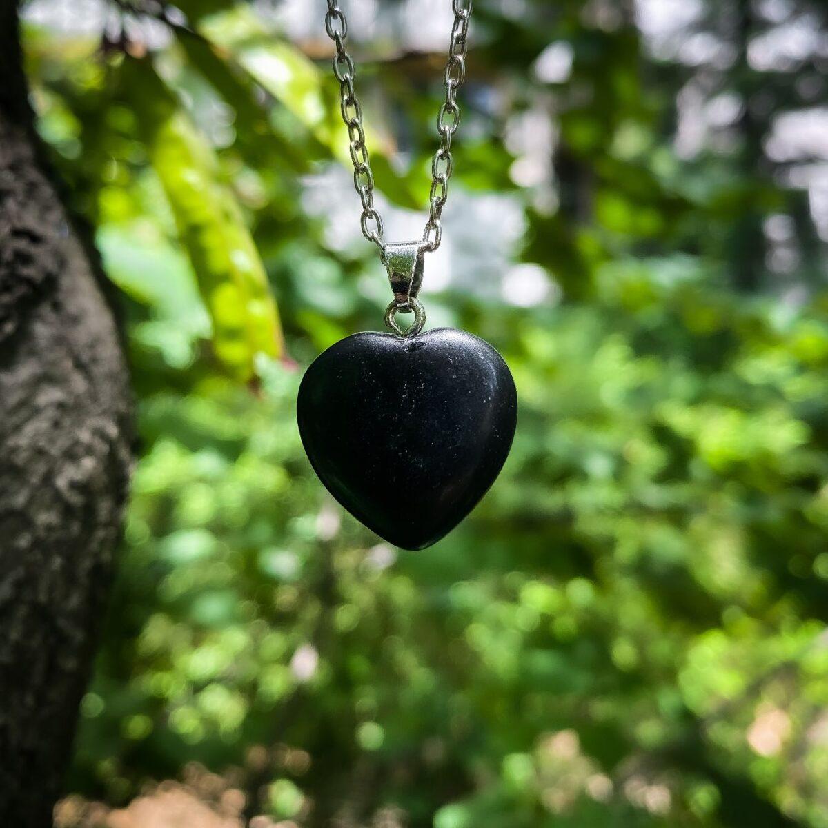 Srce Crni Oniks Magičan kamen