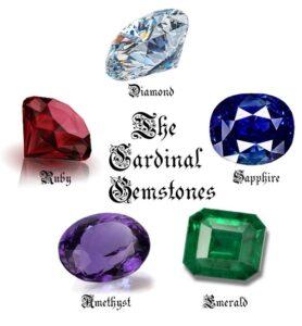 Cardinal kamenje